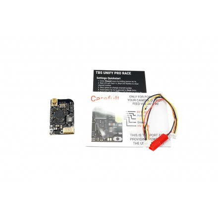 TBS Unify Pro HV - Race (MMCX) Videosender mit SMA Pigtail