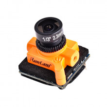 RunCam Micro Swift 3 M8 2,3mm Linse 600TVL FPV Kamera mit OSD orange