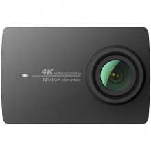 YI 4K Action Camera schwarz 4K/30fps 12MP mit LCD Touchscreen, WiFi & App (B-Ware)
