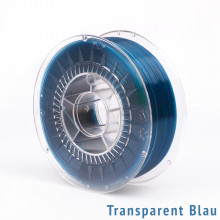 EXTRUDR MF-PETG 3D-Druck Filament Rolle Transparent Blau 1,75mm2 1,1kg