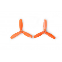 Gemfan 5045 5x4.5 Dreiblatt orange PC Propeller 2x CW 2x CCW (2L2R)