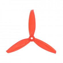 Gemfan 5043-3 WinDancer Red Triblade Propellers 2x CW 2x CCW (4 pieces)